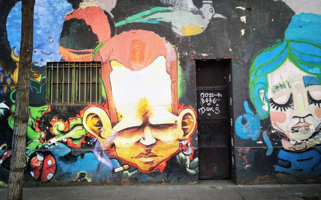 Street Art in Santiago, Chile – Nghệ Thuật Đường Phố Chilê